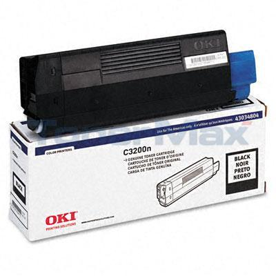 OKIDATA C3200 TONER CARTRIDGE BLACK
